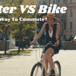 women on scooters and bikes